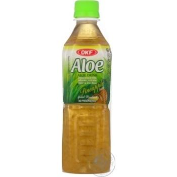Напиток Окф ананас сокосодержащий 500мл пластиковая бутылка Корея
