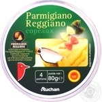 Сыр Auchan Пармиджано Реджано 32% 80г