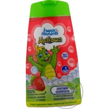 Happy Moments Drakosha Shampoo With Strawberries For Children 240ml - buy, prices for Furshet - image 2