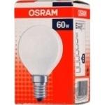 Лампа накаливания Osram 60Вт, Е14, матовая
