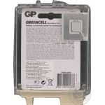 Батарейки GP Greencell 1.5V AAA 4шт - купить, цены на Метро - фото 3