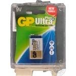 Батарейка GP Ultra Plus Alkaline 9V 6LF22