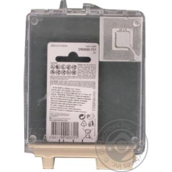 Батарейка GP CR2032-U Lith 1шт - купить, цены на Метро - фото 2