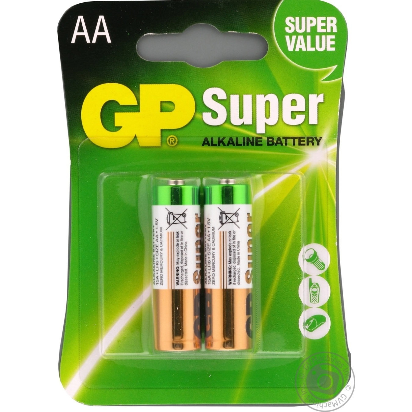 Battery Gp aa 2pcs