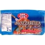 Cheese mozzarella Mlekovita soft 38%