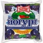 Йогурт Злагода черника 1,5% 400г