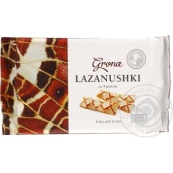 Печенье слоеное Грона Лазанушки 160г