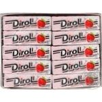Chewing gum Dirol strawberries with cream 14g