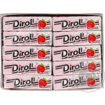 Жевательная резинка Dirol клубничная поляна 14г - купить, цены на Восторг - фото 2