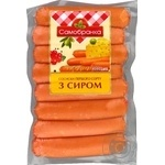 Yuvileyniy with cheese boiled sausages 300g