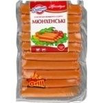 Yuvileyniy Munich premium boiled sausages 240g
