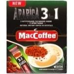 Напиток кофейный MacCoffee Arabica 3в1 растворимый 16г
