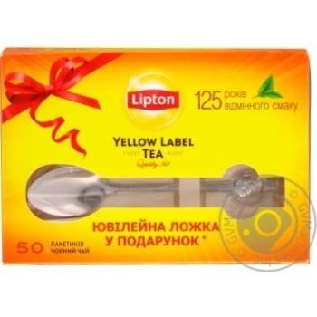 Чай черный Lipton label 50шт*2г