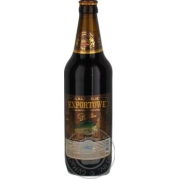 Пиво Kaluskie Экспортовое В Ригу темное 0,5л