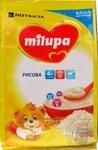 Каша Milupa молочная рисовая 210г