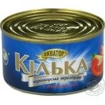 Ekvator №5 in tomato canned fish sprat 230g