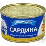 Fish sardines Akvamaryn in oil 230g