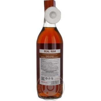 Ром Real Rum Gold 1л - купить, цены на Novus - фото 2