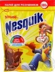 Напій швидкорозчинний з какао NESQUIK Opti-Start збагачений вітамінами та мінеральними речовинами 380г