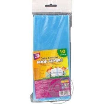Обкладинки Cool For School для зошитів кольорові 10шт - купити, ціни на Метро - фото 2