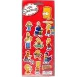Наклейки Maxi The Simpsons для творчества полимерные объемные