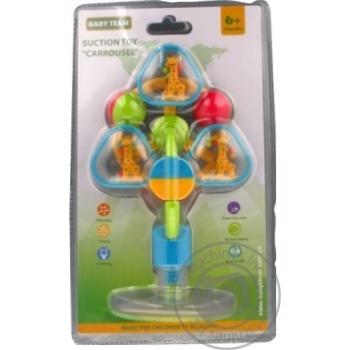 Игрушка-погремушка Baby Team Карусель
