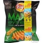 Чипсы Lay's Мaxx картофельные вкус сыра и лука 62г
