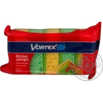 Губка кухонна Vortex 5шт - купити, ціни на Восторг - фото 3