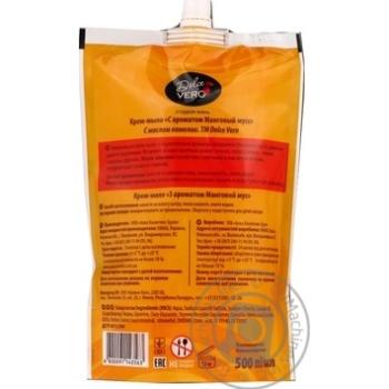 Крем-мыло жидкое Dolce Vero Манговый мусс 500мл - купить, цены на Фуршет - фото 2