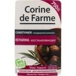 Бальзам-ополіскувач Corine de Farme оздоровлюючий з олією Каріте 750мл