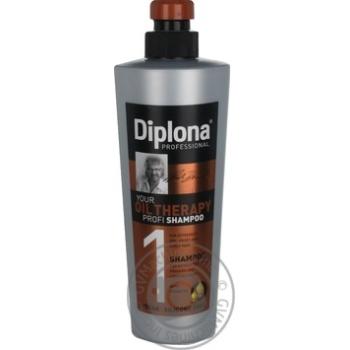 Шампунь для особливо сухого та ламкого волосся Diplona Professional 600мл