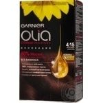 Фарба д/в. олія 4.15 морозний шоколад Гарньер