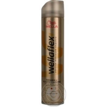 Wellaflex Hairspray Strong Fixation 250ml - buy, prices for Novus - image 1