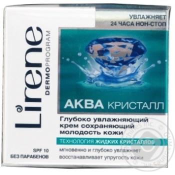 Крем Lirene зволожуючий захисний біоактивний від вільних радикалів