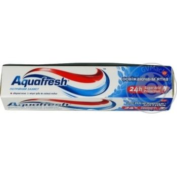 Toothpaste Aquafresh 50ml packaged - buy, prices for Novus - image 4