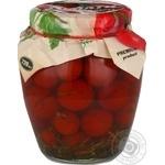 Vegetables tomato Family pickled 720ml glass jar