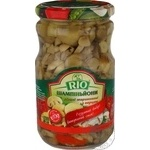 Rio Champignons With Pepper Cutted Marinated Champignons 690g