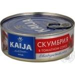 Скумбрія в томатном соусе Kaija 240г