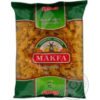 Изделия макаронные Makfa Петушиные гребешки 400г