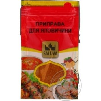 Spices Saldva for meat 35g - buy, prices for Novus - image 1