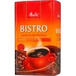 Кава смажена мелена Кафе Бистро міцний аромат Мелітта 500г