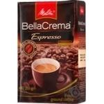Кава смажена мелена белла крема еспрессо Мелітта 250г