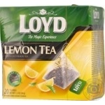 Tea Loyd Private import lemon black 20pcs 34g