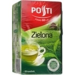 Tea Posti Private import green 20pcs 30g