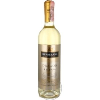 Berberana Dragon Reserva Chardonnay-Macabeo White Dry Wine 12% 0,75l - buy, prices for Novus - image 1