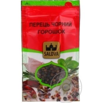 Перец Черный горошек Saldva 25г - купить, цены на Novus - фото 2