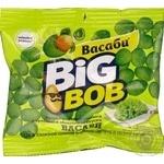Snack peanuts Big bob wasabi salt 30g