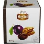 Цукерки MagNut Чорнослив з грецьким горіхом 210г