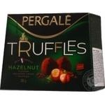 Цукерки Truffles Hazelnut Pergale 200г