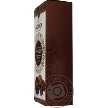 Печенье Norka Шоколадно-кофейное с грецким орехом 180г - купить, цены на Novus - фото 2